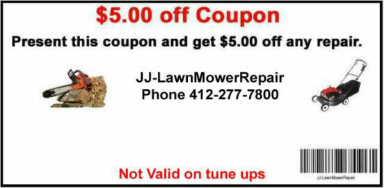 Bring coupon for 5 dollars off repair